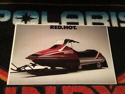 80 Yamaha Ss 440 Snowmobile Poster Andnbsp Andnbspvintage Sled Ss440