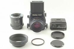 [exc+5] Mamiya Rz67 Pro +sekor Z 110mm F2.8 W + Extension Tube 82mm From Japan