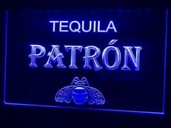 Tequila Patron Bar Pub Beer Led Neon Light Man Cave Sport Gift Present Advertise
