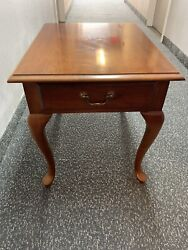Thomasville Collectors Cherry End Table 10131-210