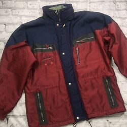 Mens Vintage Ski Jacket By American Active Wear Functional Clothing Size Xl