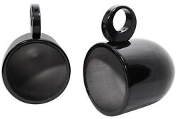 2 8andrdquo Black Wakeboard Tower Enclosure Pods For Wet Sounds Revo-8 Marine Speakers
