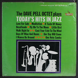Dave Pell Today's Hits In Jazz Liberty 12 Lp 33 Rpm