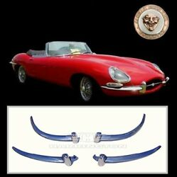 Jaguar E-type Xke Series 1 1/2 Brand New Stainless Steel Bumpers