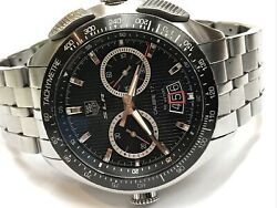 Tag Heuer Slr Mercedes Benz Cag2010 Calibre 17 Chrono Date Steel 47mm Watch