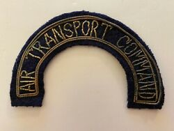 Pk891 Original Ww2 Us Army Air Force Air Transport Command Patch Damaged L2a