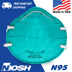 N95 Masks In Stock - Niosh Approved Usa Made Alg Patriot N95 Mask - Teal