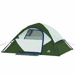 6 Piece Camping Combo - Tent Sleeping Bags Chairs And Portable Travel Table