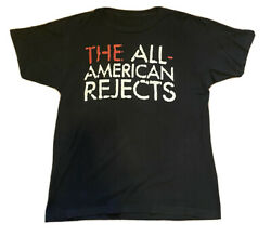 Vinatge The All American Rejects Kids In The Street Tour Concert T Shirt Medium