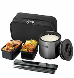 Tiger Thermos Thermal Insulation Lunch Box Stainless Lunch Jar Tea Bowl Japan