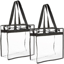 Stadium Approved Clear Tote Bags 2 Pack $14.58