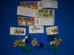 3 Vintage Kinder Ferrero Egg Toys Goofy From Mickey Mouse And Company 1990