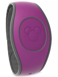 Disney World Parks Purple Plum Magicband 2 Solid Color Magic Band Linkable - New