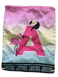 JUSTICE Girls INITIAL A BEACH SLING BAG $14.00