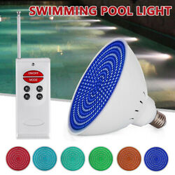 Led Pool Light Rgb Color Changing 12v 40w For Pentair Hayward In Ground E27 Usa