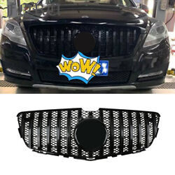 Gt Mesh Grill Facelift For Benz R Class W251 Gt R Grille 2010-2017 R350 Black