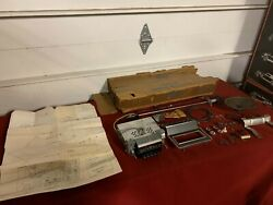 Nos 1969 Ford Mustang Am Radio Kit C9zz-18805-a Fomoco 69 Mach-1 Shelby Gt Boss
