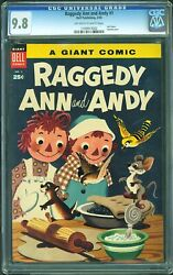 Raggedy Ann And Andy 1 Cgc 9.8 1955 Dell Giant Rare 60+ Years Old L12 112 Cm