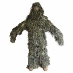 Sniper Camouflage Suit Hunting Ghillie Suit Hunting Invisibility Airsoft Uniform