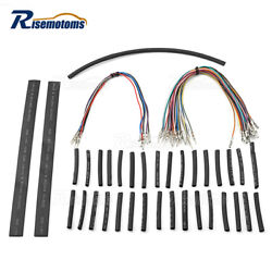 Handlebar 12 14'' 16'' Wiring Harness Extension Kit For Harley Touring 07-13