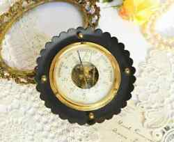 Collectibles Vintage Antique Instrument Rare Old Barometer Brass Germany 1950