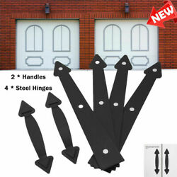 Decorative Garage Door Magnetic Handle And Hinge Carriage House Hardware Kit Us