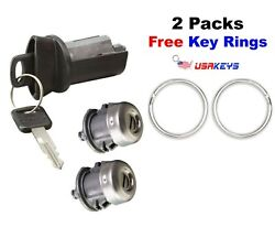 Ford F250 F350 1997-2007 Ignition Cylinder And 2 Door Locks With 2 Ford Keys