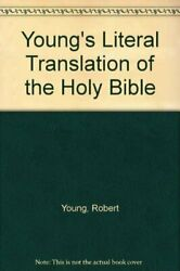 Young's Literal Translation Of The Holy Bible By Robert-young Book The Fast Free
