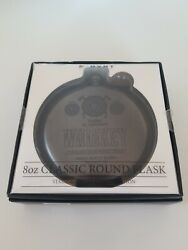 8 Oz Classic Round Flask/whisky Scotch/ New In Box By Mvmt