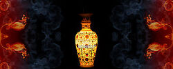 16 Marble Flower Vase Inlaid Free Coaster Set With Intricate Room Design H4070b