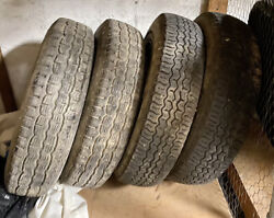 Vintage Austin Healey 4 Wheels And Tires 15 In.