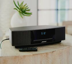 Bose Wave Music System Iv With Cd Player And Am/fm Radio And Alarm Clock And Clock