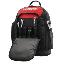 Husky 16 in. Tool Backpack Construction Home Auto Garage DIY Work Storage Tote $53.33
