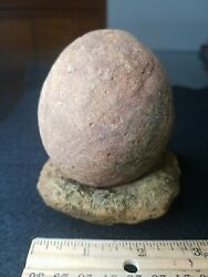 Native American Indian Game Stone And Rock Bowl