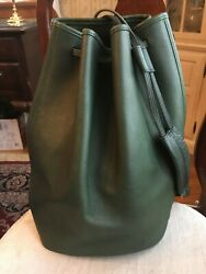 VINTAGE COACH BAG THE SLING STYLE 9929 BOTTLE GREEN EXCELLENT CONDITION $185.00