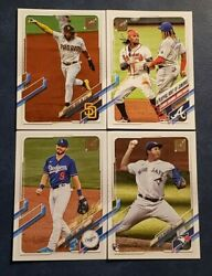 2021 Topps Series 1 Base 1-200 Veterans And Rookies You Pick Tatis Adell
