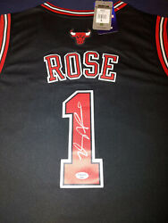 Derrick Rose Official Swingman Signed Autographed Jersey - Certified Auto