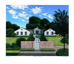 Shelley's House, Limited Edition Pigment Print, Scott Kahn - Signed