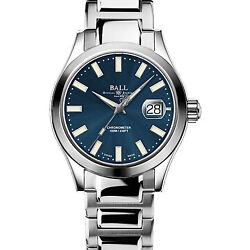 Authorized Dealer Ball Engineer Iii Marvelight Blue Dial Nm2026c-s27c-be