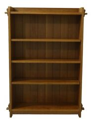 51450ec Stickley Mission Style Cherry Open Bookcase