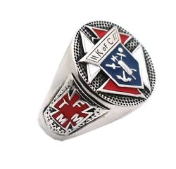 Ring Knights Of Columbus 316l Stainless Steel Christianity Catholicism Cross
