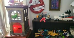 Vintage Original Ghostbusters Firehouse Ghostbusters Vehicles Kenner