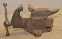 Rare Rock Island Vise No 231 Large Anvil Knife Makers Jewelers Collectible Tool