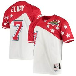 Denver Broncos Afc John Elway Mitchell And Ness 1994 Pro Bowl Nfl Authentic Jersey
