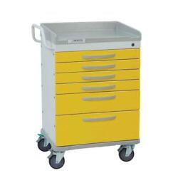 Detecto Rescue Series Isolation Medical Cart
