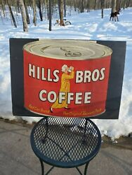 Vintage 1959 Hills Brothers Coffee Paper Advertisement 21 1/2× 20