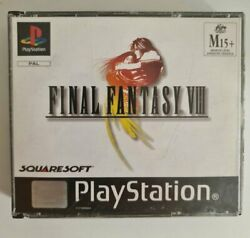 Final Fantasy 8 - No Manual - Ps1 - Free Tracked Postage