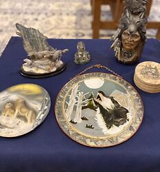 The Great Outdoors, Six-piece Collection Of Wildlife Decor, Very Nice