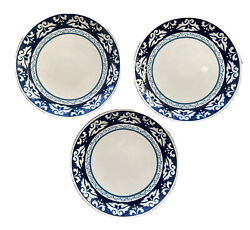 Bobby Flay Marbella Dinner Plate 10 7/8 Inches In Diameter Lot Of 3