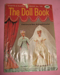 Vintage Pattern Book -doll Fashions To Knit And Crochet  1966